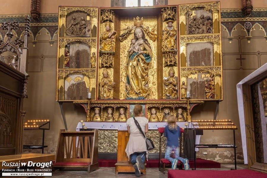 Katedra we Fromborku - Ołtarz Matki Boskiej
