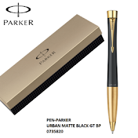 Pulpen Parker URBAN MATTE  BLACK GT BP