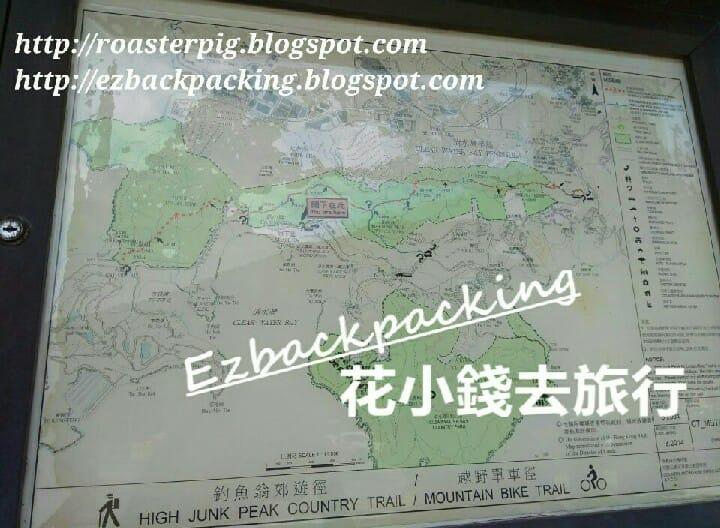 西貢釣魚翁郊遊徑路線圖