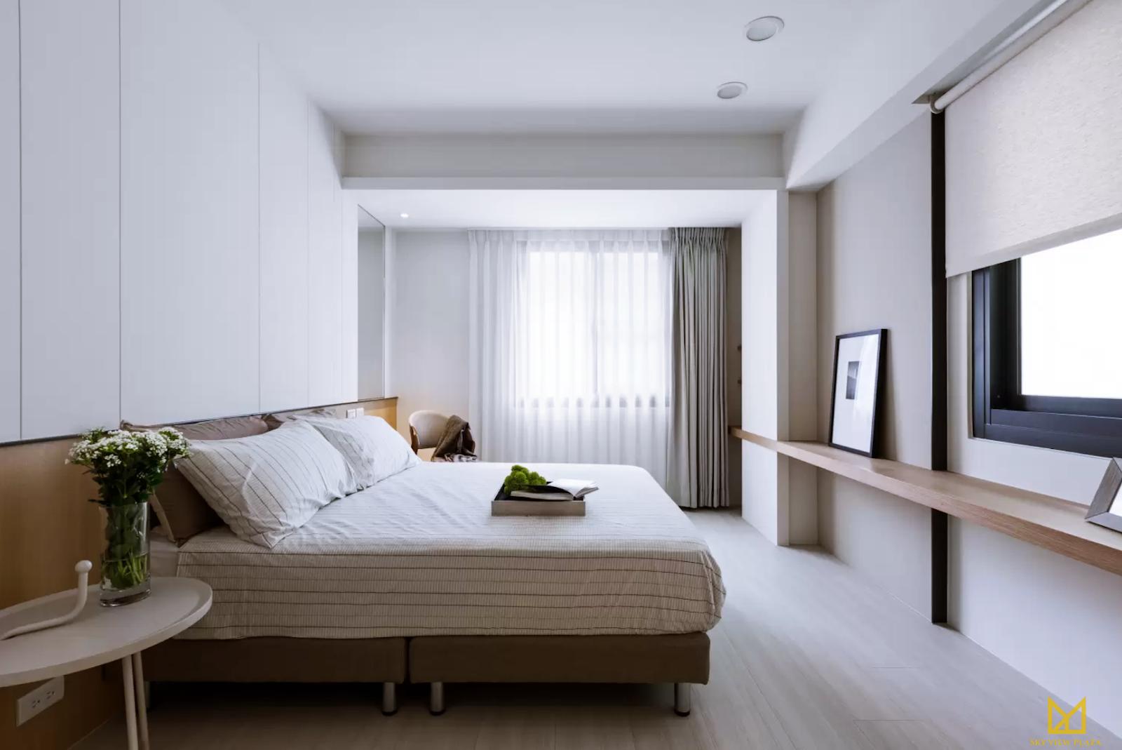 Phòng ngủ dự án Sky VIew PLaza