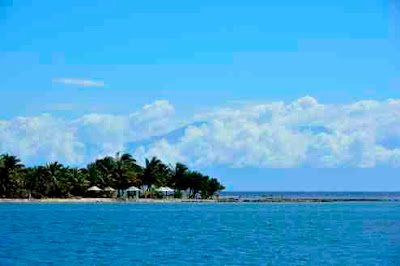 Glimpse of Mainland Honduras from Utila
