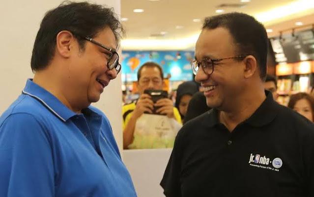 Ketua DPP Golkar Harapkan Kerjasama di 2024, Anies Baswedan: Cerah Sekali