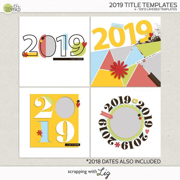 2019 Title Templates