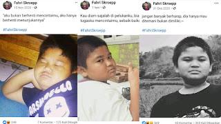 35 Kata Kata Lucu Fahri Skroepp Bocah Bucin di Facebook