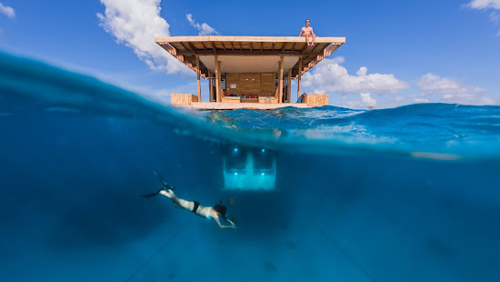 Best Moment to Stay at The Manta Resort's Underwater Room, Tanzania