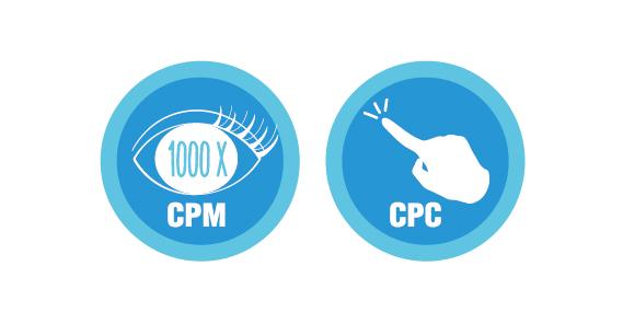 sự khác biệt giữa cpm và cpc