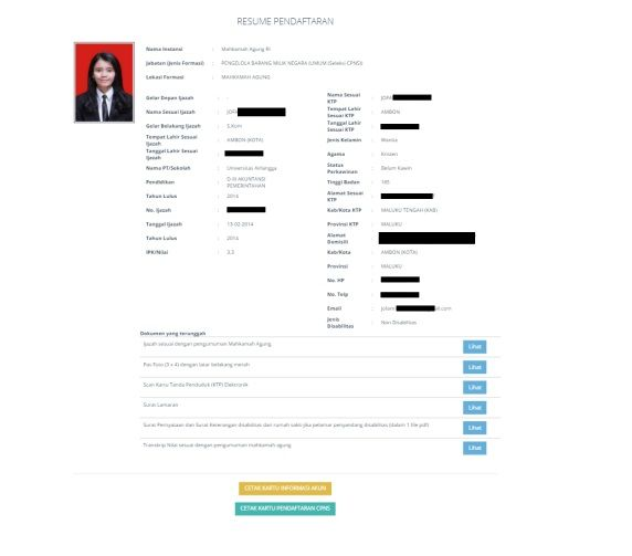 √ Petunjuk Pendaftaran Sistem Seleksi CPNS Nasional 2020 Terlengkap 64