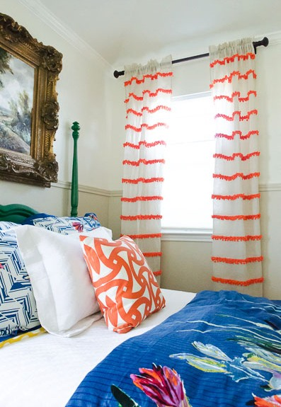 Pop on Pattern Curtain Ideas! RR Interiors