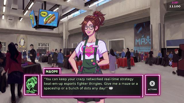 Arcade Spirits Naomi