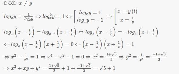 Tìm giá trị biểu thức logarit | đại số toán lớp 12