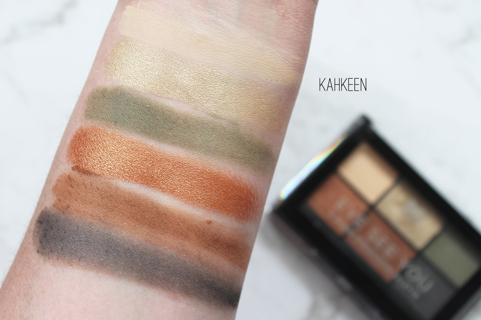 DESIGNER BRANDS | New Palettes + Retractable Eyeliners - Review + Swatches - CassandraMyee