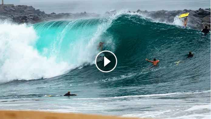 SURFING PERFECT WEDGE JAMIE O BRIEN