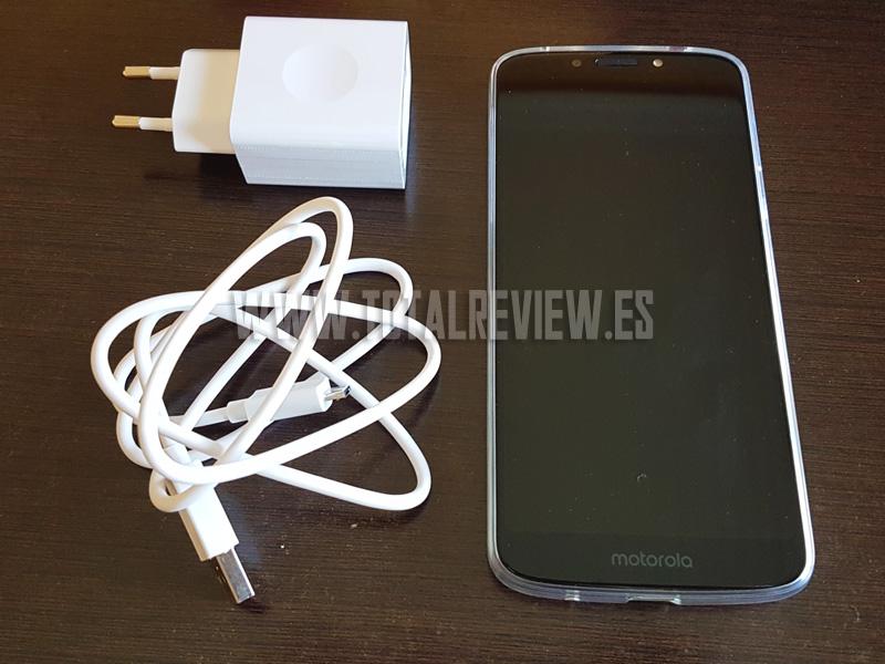 Motorola E5 plus: gran batería con carga rápida
