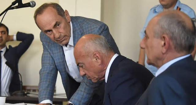 Ex primeros ministros exigen liberación de Kocharian