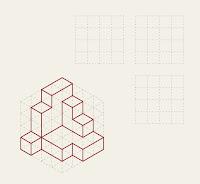 Trazado de vistas ortogonales Figura 18