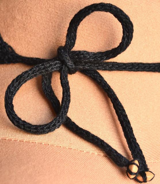 Lace Choker I-Cord Detail
