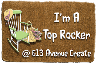 613 Avenue Create, Top Rocker Jan 2019 (mixed media)