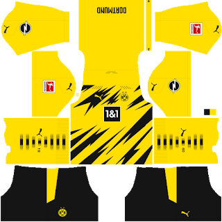 Borussia Dortmund - Dream League Soccer 2021 Forma Kits & Logo