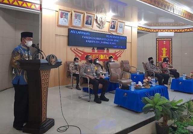 Lampung Utara Menuju Kabupaten Layak Anak