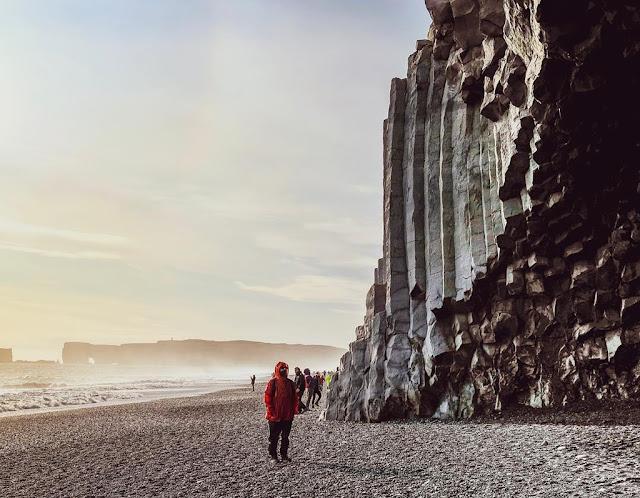 Reynisfjara beach, Iceland.