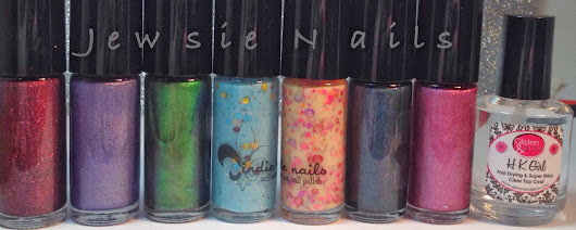 Jindie Nails Swatches & Review (Indie Polish)