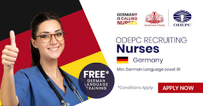 Recruitment of Male and Female Staff Nurses to Germany