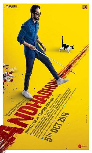 Andhadhun (2018) Hindi 480p Bluray 500MB