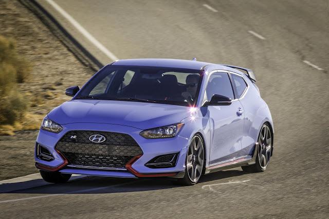 Hyundai Veloster N Wins Prestigious 2020 Road & Track Performance Car of the Year