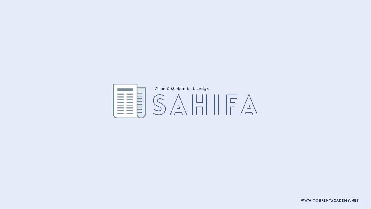 Sahifa news WordPress Theme