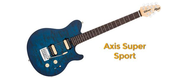 Music Man Axis Super Sport Guitarra Eléctrica