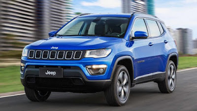 upcoming 2017 Jeep Compass small crossover