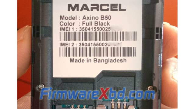 Marcel B50 6531E Flash File Download