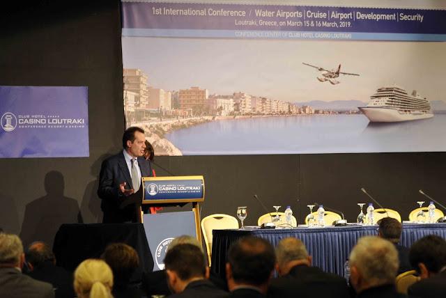 Γ. Δέδες: Αναπτυξιακές προοπτικές για την Πελοπόννησο και τη χώρα με την λειτουργία δικτύου υδατοδρομίων