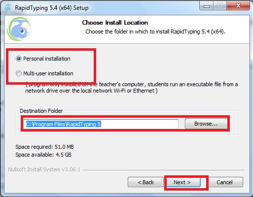 Hướng dẫn cài đặt phần mềm Rapid Typing 5.4 64bit mới nhất c