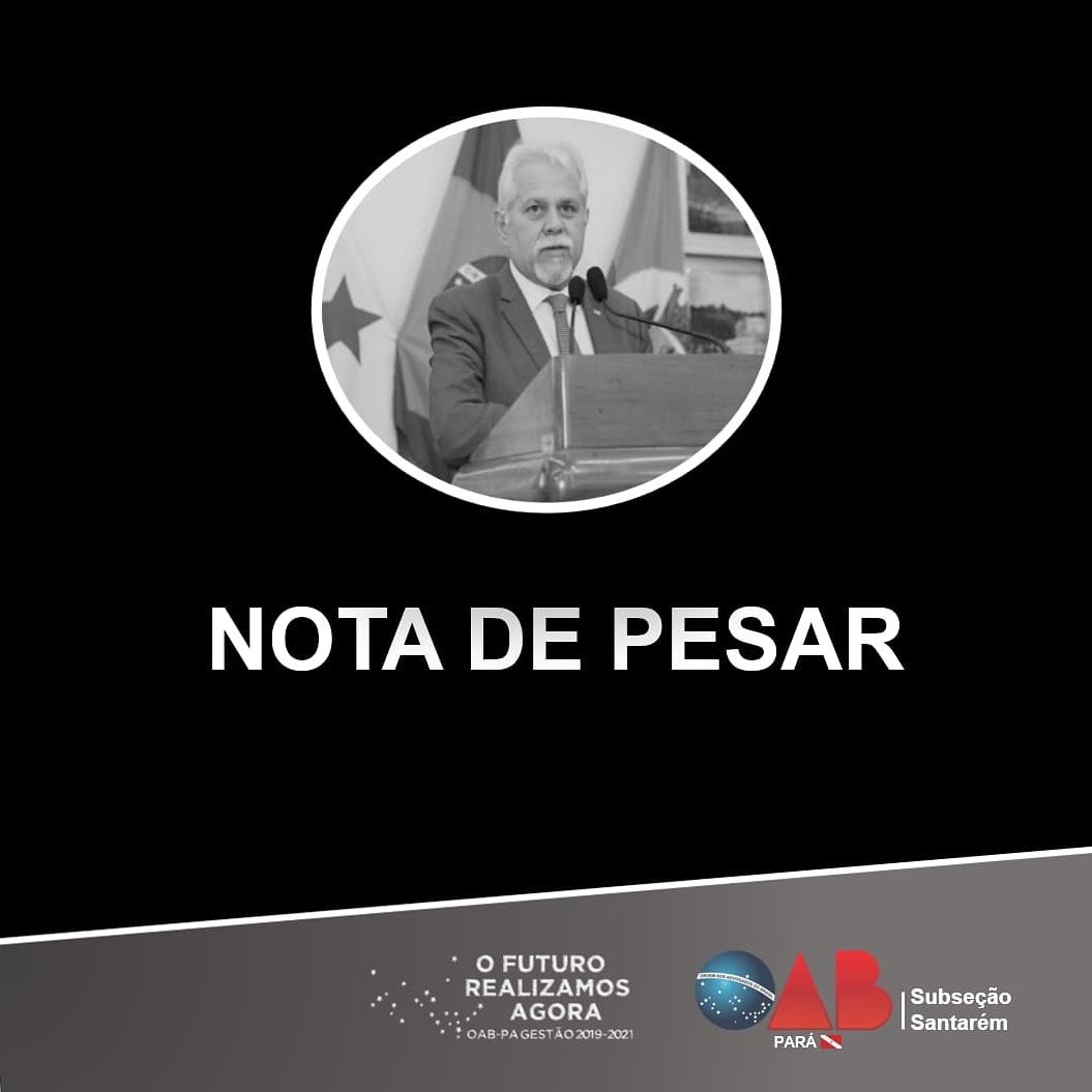 Em nota, OAB destaca o legado deixado por Ubirajara Bentes Filho