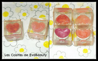 cajas labial corazon gloss