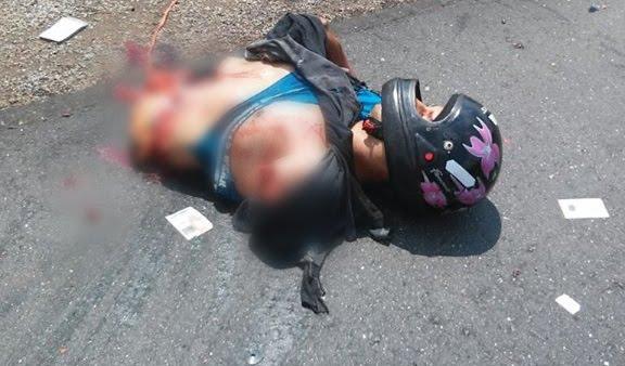 Acidente trágico despedaça motociclista deixando apenas tórax e cabeça na pista a 45 km de Vilhena