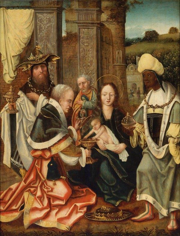 Антверпенская школа, XVI век - Поклонение волхвов