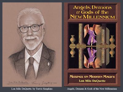 Lon Milo DuQuette. Angels, Demons & Gods of the New Millennium. Ordo Templi Orientis. Thelema. by Travis Simpkins