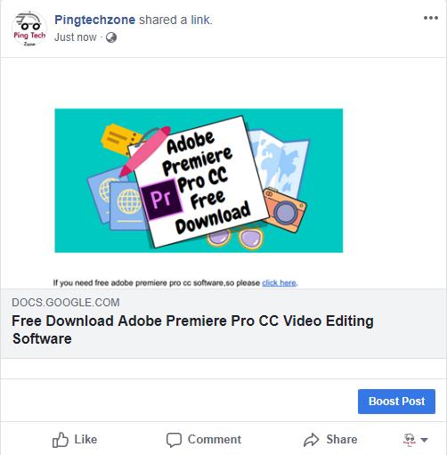 Share Blocked Website Link On Facebook