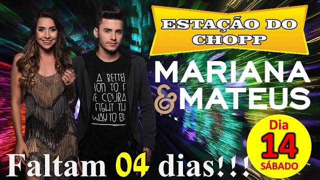 MARIANA E MATEUS NO ESTAÇÃO DO CHOPP