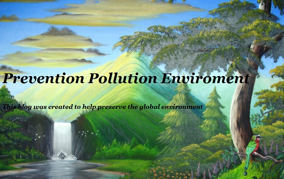 PREVENTION ENVIRONMENTAL POLLUTION