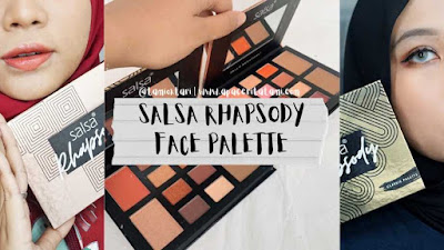 [REVIEW] Salsa Cosmetic Rhapsody Face Palette: Classic & Amber