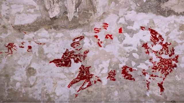 Lukisan purbakala berumur 44 ribu