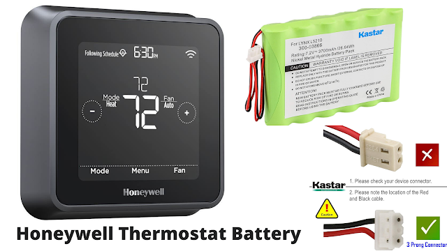 honeywell thermostat battery