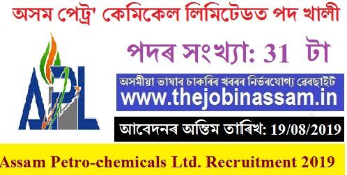 Assam Petro Chemicals Ltd. Recruitment 2019