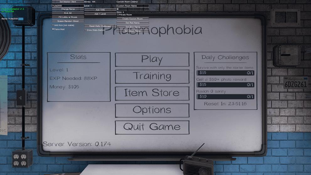 Phasmophobia Hack PC Free - SpeedHack, NoClip, Ghost Hunt [2021]