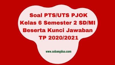 Soal PTS/UTS PJOK Kelas 6 Semester 2 Beserta Kunci Jawaban TP 2020/2021