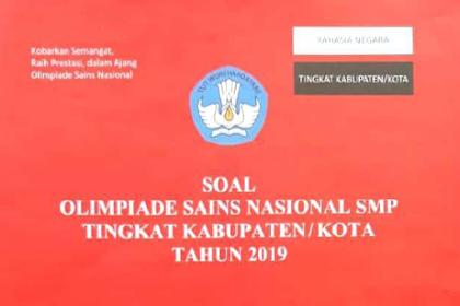 Soal dan Pembahasan OSN OSK IPA SMP tahun 2019