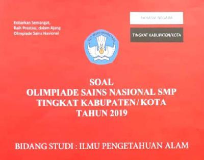 Soal dan Pembahasan OSK IPA SMP tahun 2019 Fisika